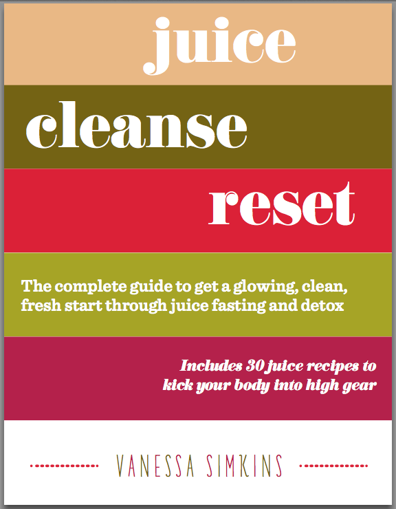 Juice Cleanse Reset Book