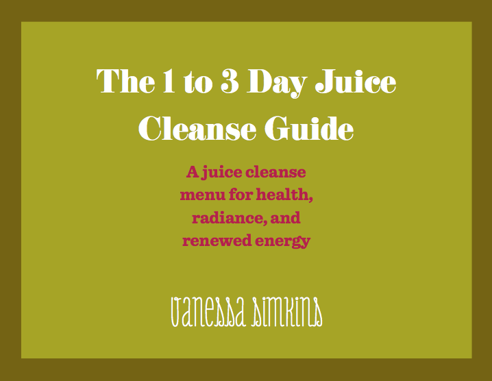 1 to 3 day juice cleanse guide