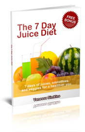 7 day juice diet book