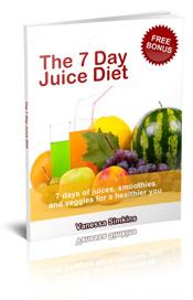 7 day juice diet book