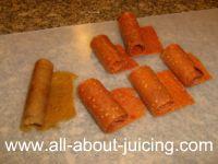 homemade fruit roll