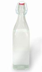 glass bottle for storing juice
