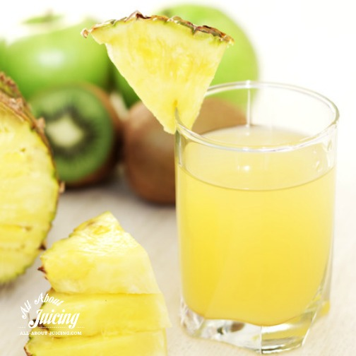 juicing for weight loss recipes- pineapple juice