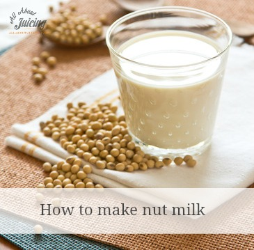make nut milk