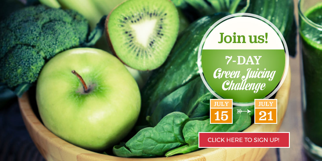 7-Day Green Juicing Challenge