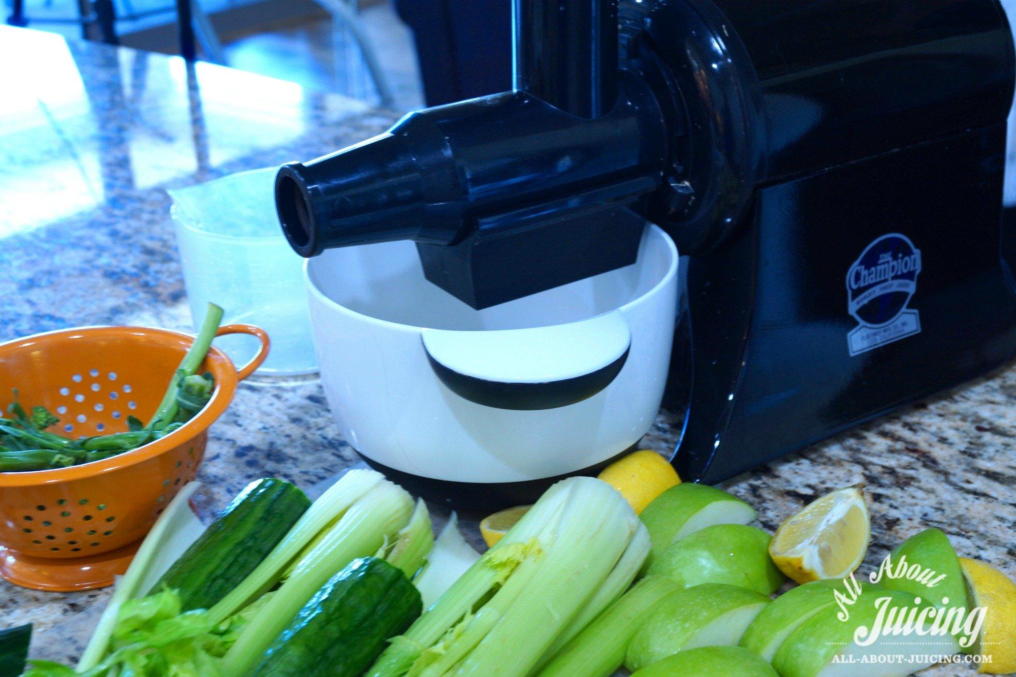 Broccoli juice recipe