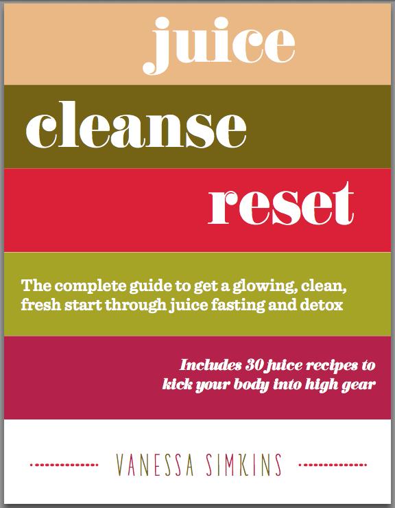 Juice Cleanse Reset Book