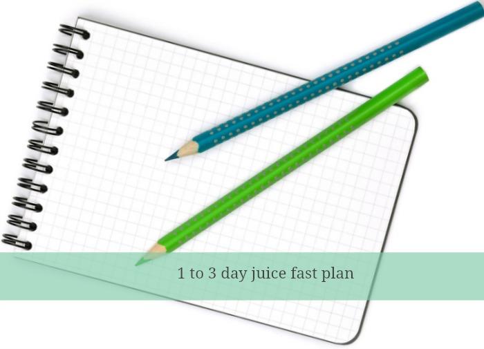 juice fast plan